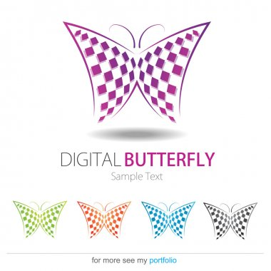 Company (Business) Logo Design, Vector, Butterfly