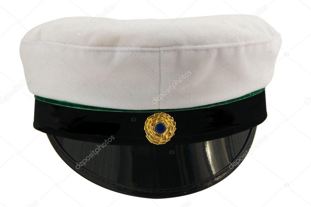 Student cap isolated