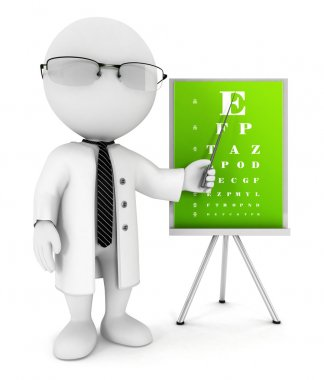 3d white optician