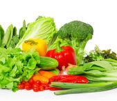 mnoho zeleniny