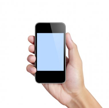 Touch screen mobile phone