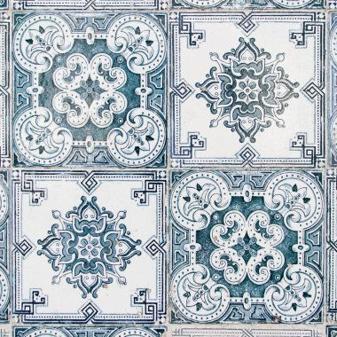 Vintage Azulejo from Portugal