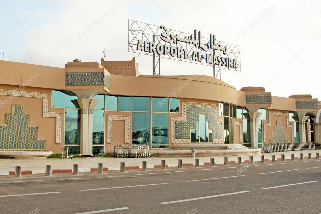Flughafen Al Massira In Agadir S 252 D Marokko Stockfoto