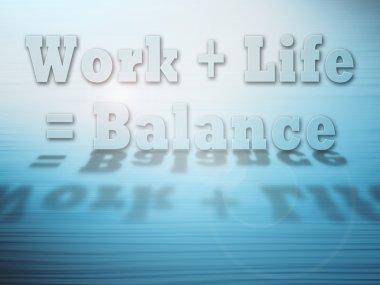 Work Life Balance concept