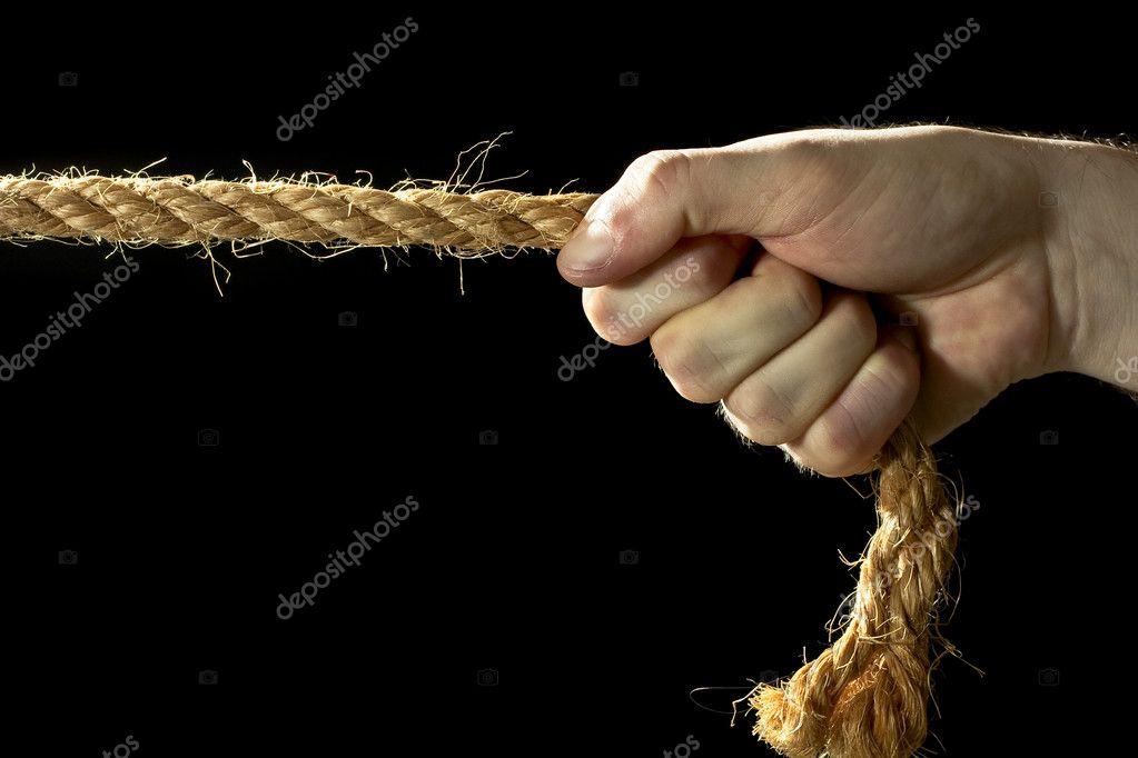 ты стянула мои руки веревками вам
