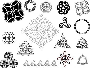 Various small ornaments and patterns