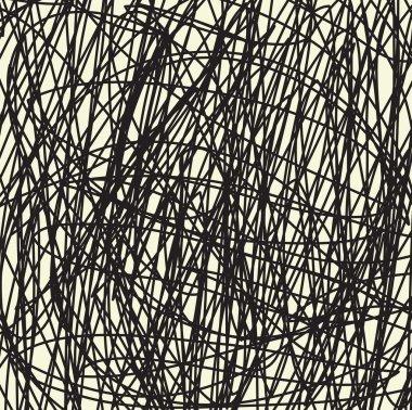 Hand drawn line background