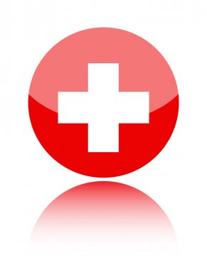 First aid medical sign