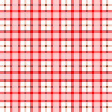 Red stripe seamless pattern