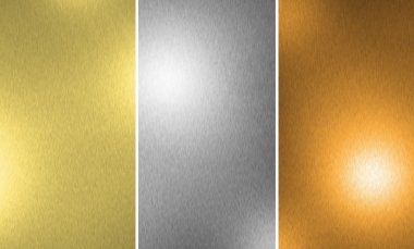 Gold Silver Bronze texture