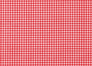 Red and white tablecloth picnic