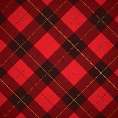 Wallace tartan Scottish plaid