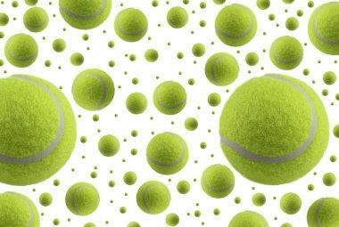 Tennis ball rain