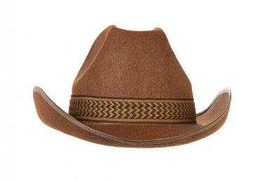 Cowboy hat isolated on white