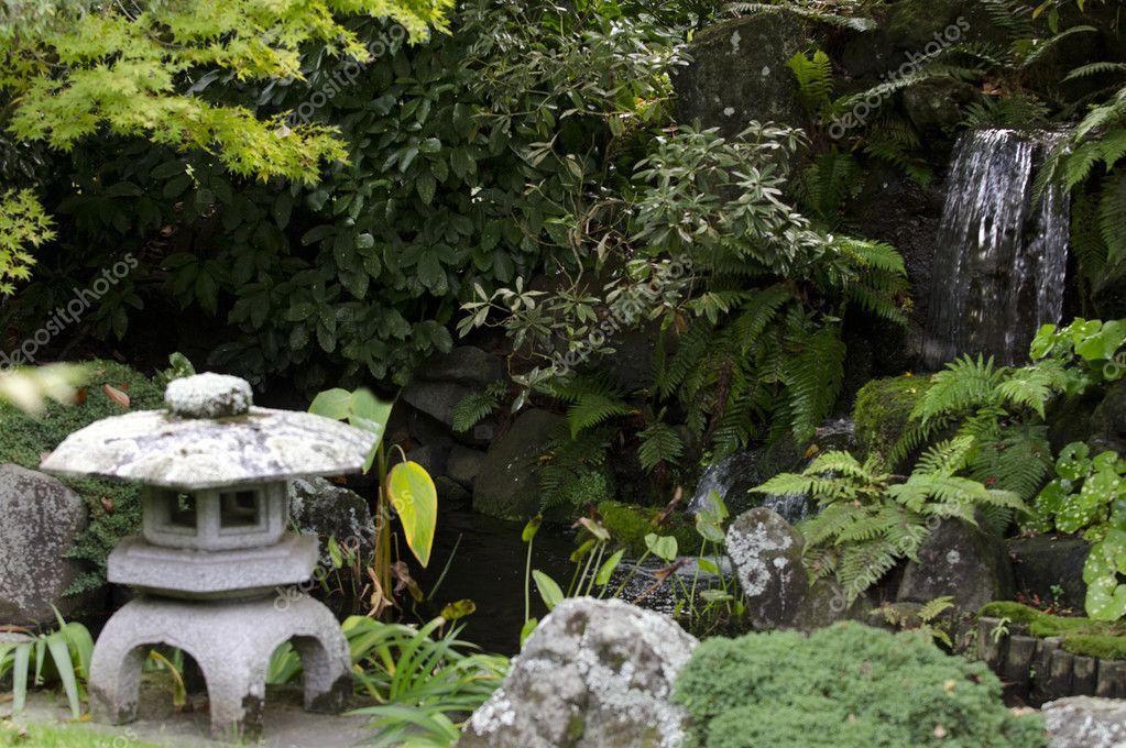 jardinera y paisaje jardines japoneses foto de stock - Jardines Japoneses