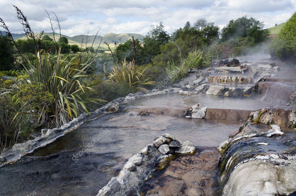 New Zealand Hot Spring and Spa Pool in Rotorua