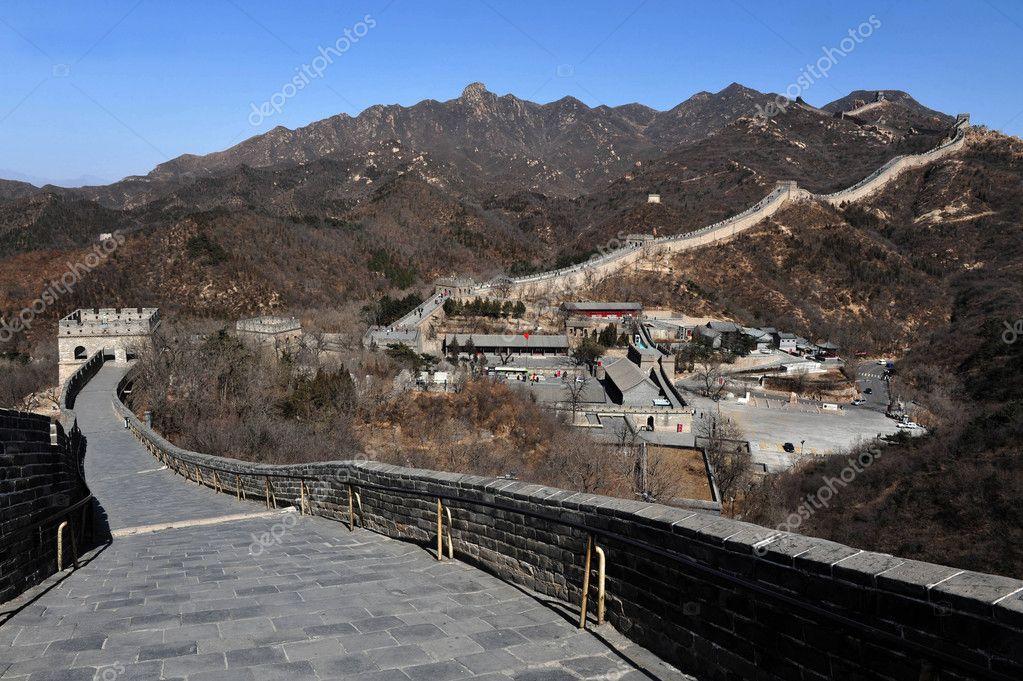 Grote Foto Op Muur.Peking Grote Muur Van China Stockfoto C Lucidwaters 11065530