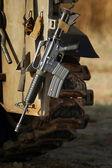 Fényképek M16 Izraeli hadsereg puska