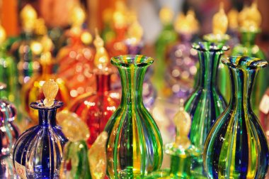 Glasswork on Murano Island, Italy