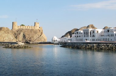 Sultans Palace in Muscat