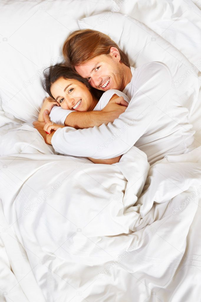 Couple showing romance on bed   Stock Photo  10793533. Couple showing romance on bed   Stock Photo   OtnaYdur  10793533