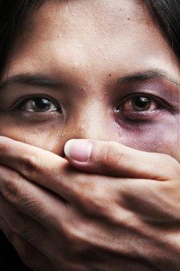 Kaçırılan ve istismar kadın