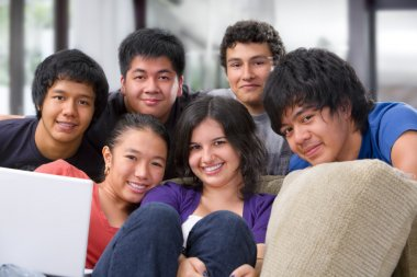Multi ethnic friendship