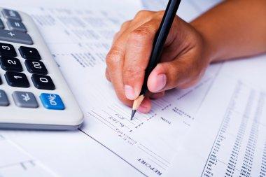 Filling financial report