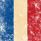 Photo France retro flag