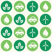 Fotografia pattern di sfondo trasparente verde eco retrò