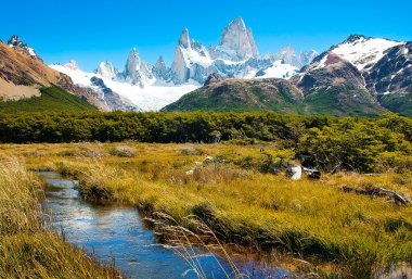 Beautiful nature landscape in Patagonia, Argentina