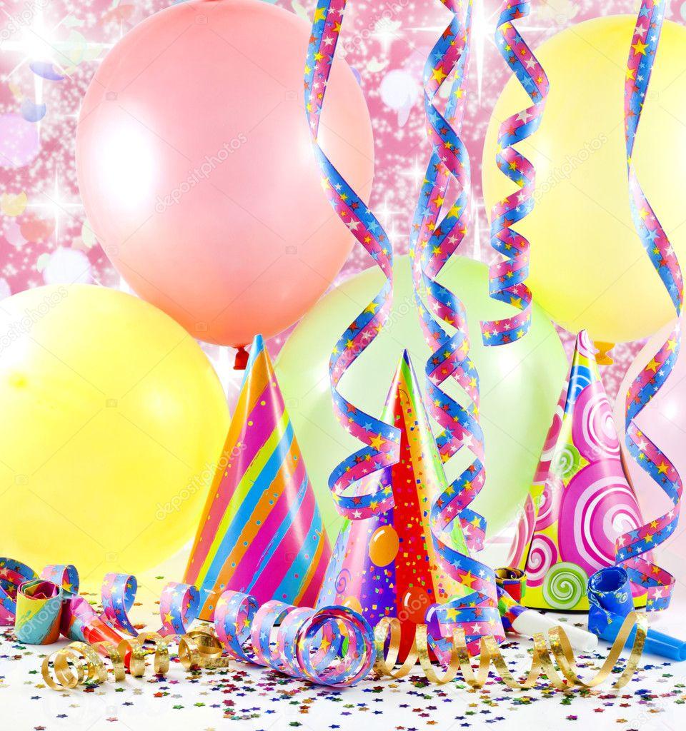 Sfondo colorato festa con palloncini foto stock udra - Immagine con palloncini ...
