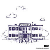 iskola épülete
