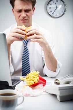 Untasty hamburger
