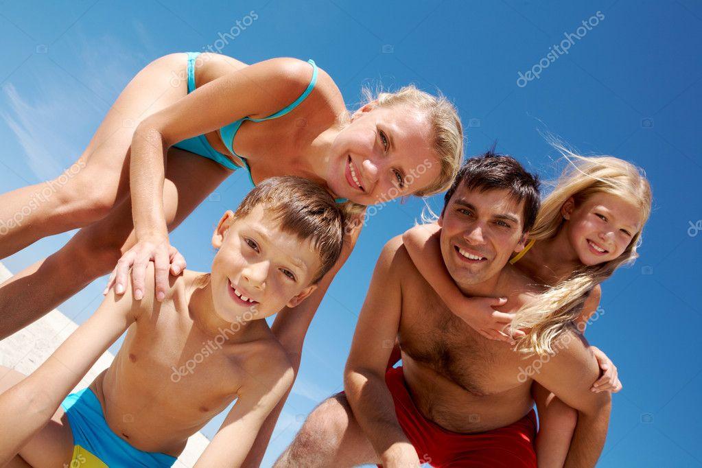 фото семья нудисты
