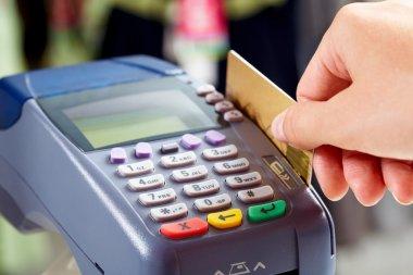 Paying