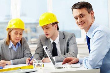 Working architect