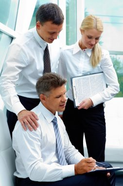 Partners communicating