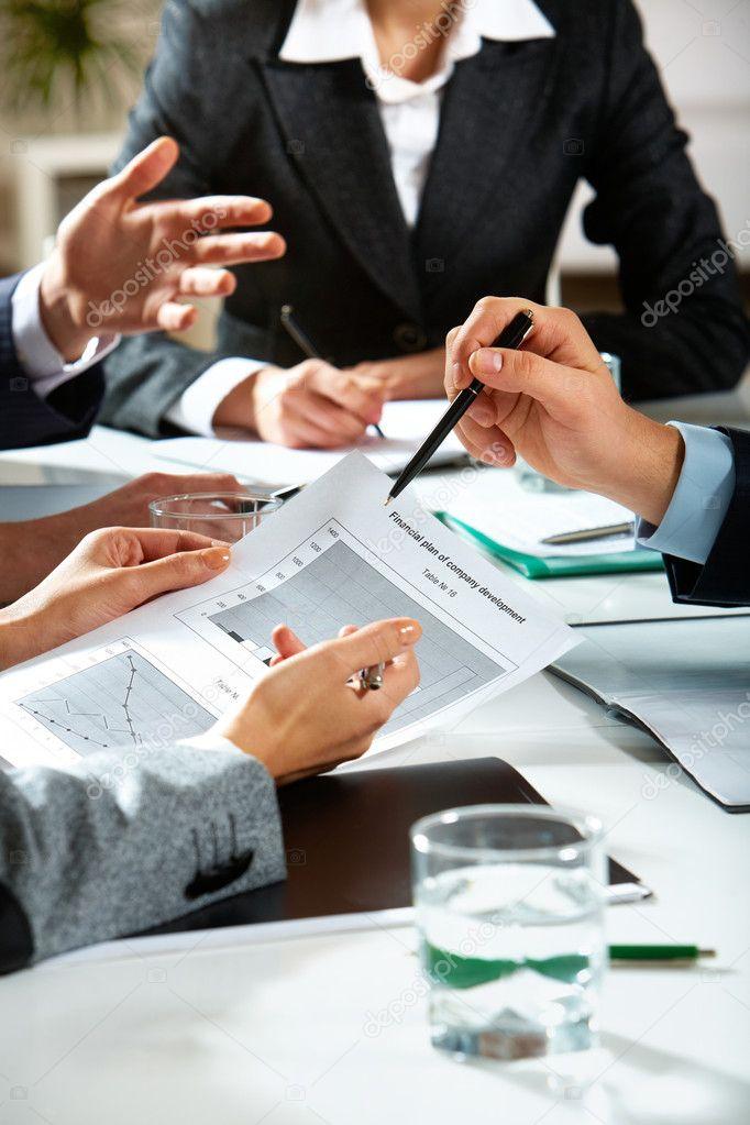 Planning work