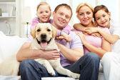 Fotografie šťastná rodina