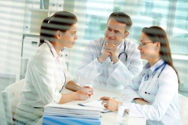 Consulting patient