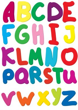 Colour alphabet