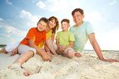 Fotografie Familie auf resort