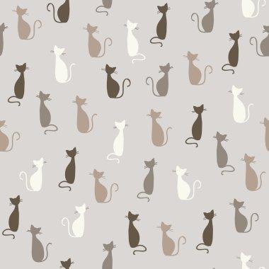 Cats pattern