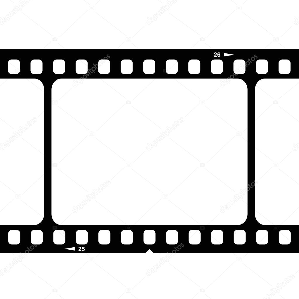 illustration of blank 35mm film strip stock vector ann precious rh depositphotos com film strip vector free film strip vector free download