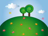 Fotografia cartone animato natura