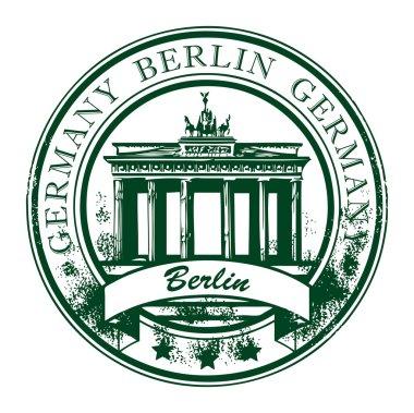 Berlin stamp