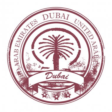 Stamp Dubai, United Arab Emirates