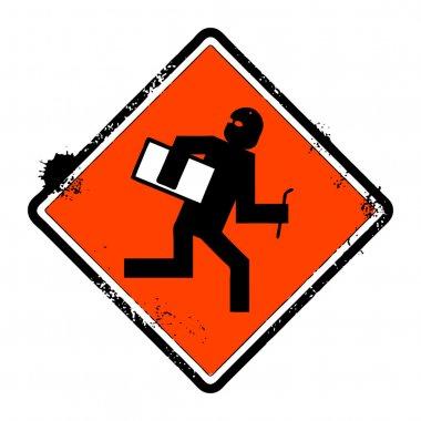 No thief sign
