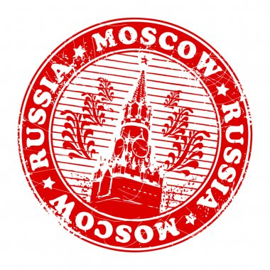 Stamp Moscow, Russia